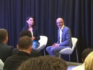 Rocio Fonseca intervista Satya Nadella