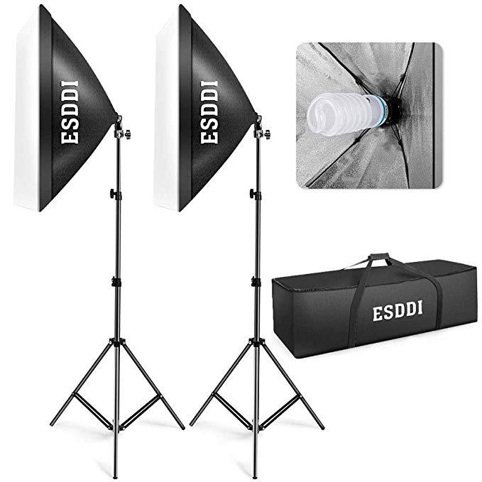 luci per set fotografico