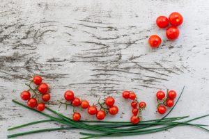pomodori in terrazza